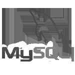 logo blanco y negro msql